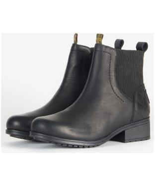 Women's Barbour Eden Chelsea Boots - Black