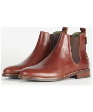Women's Barbour Foxton Chelsea Boots - Cognac