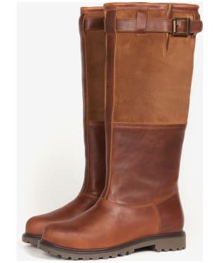 Women's Barbour Acorn Boots - Brown