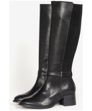 Women's Barbour Susie Knee High Boots - Black