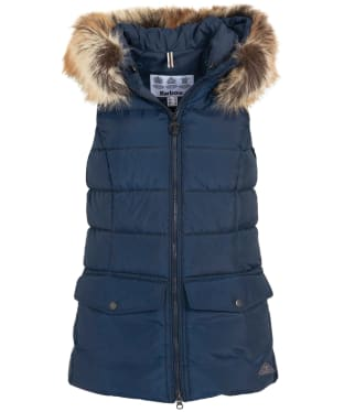 Women's Barbour Bayside Quilted Gilet - Navy
