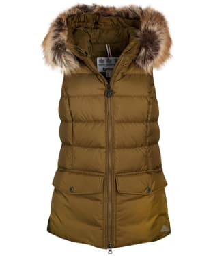 Women's Barbour Bayside Quilted Gilet - Nori Green