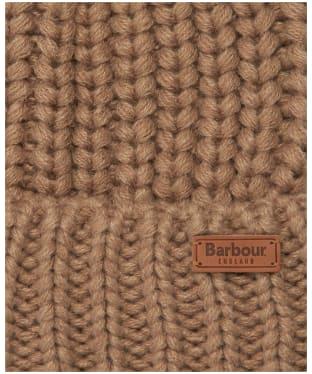 Women's Barbour Saltburn Bobble Hat - Mink