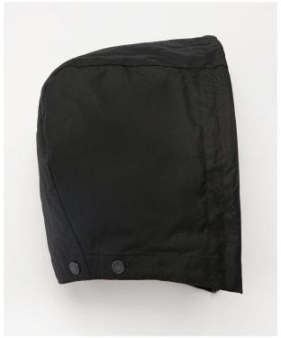 Women's Barbour Re-engineered Hood - Black / Modern Tartan