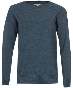 Women's Barbour Sailboat Knit Sweater - Navy Twist