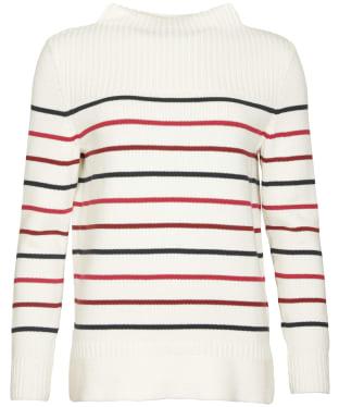 Women's Barbour Stripe Guernsey Knit Sweater - Multi Stripe