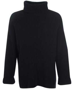 Women's Barbour Stitch Cape - Black