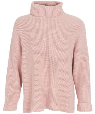 Women's Barbour Stitch Cape - Soft Pink