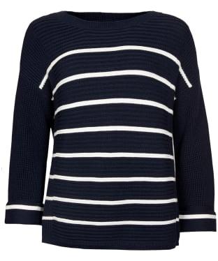 Women's Barbour Birling Knit - Navy