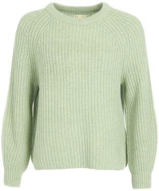 Women's Barbour Hartley Knit - Soft Sage Marl