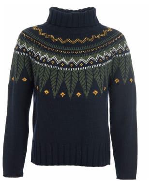 Women's Barbour Hebden Knit - Navy