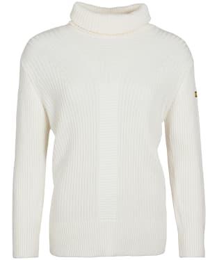 Women's Barbour International Clypse Knit Sweater - Frost