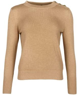 Women's Barbour Culloden Knit - Camel