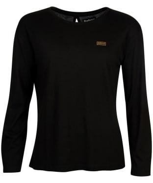 Women's Barbour International Zolder Top - Black