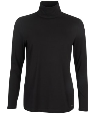 Women's Barbour Rosevale Top - Black