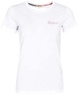 Women's Barbour Edie T-Shirt - White
