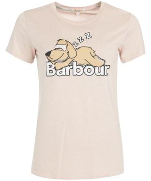 Women's Barbour Nellie Tee - Light Pink
