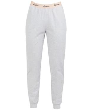 Women's Barbour Lottie Lounge Trouser - Light Grey Marl