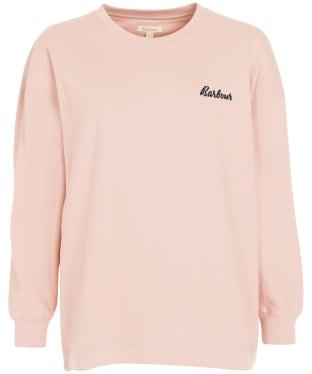 Women's Barbour Rosie Lounge Crew Sweater - Rose Tan