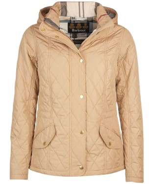 Women's Barbour Millfire Quilted Jacket - Hessian