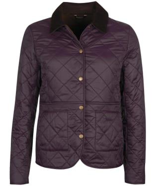 Women's Barbour Deveron Polarquilt Jacket - Elderberry