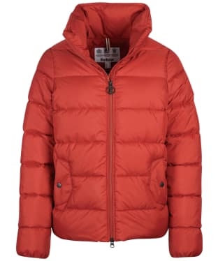 Women's Barbour Dune Quilted Jacket - Flame Red