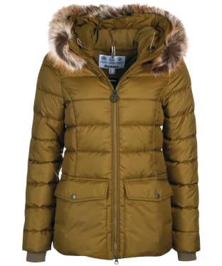 Women's Barbour Bayside Quilted Jacket - Nori Green