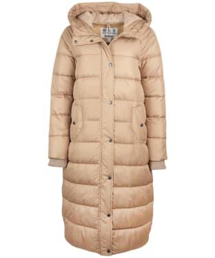 Women's Barbour Crimdon Quilted Jacket - Sandstone