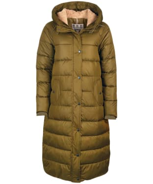 Women's Barbour Crimdon Quilted Jacket - Nori Green