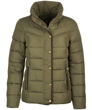 Women's Barbour Stanton Quilted Jacket - Olive