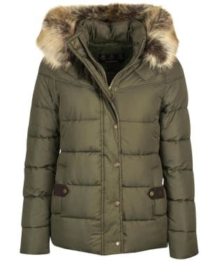 Women's Barbour Hawkshead Quilted Jacket - Olive