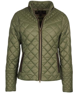 Women's Barbour Grassmere Quilted Jacket - Olive