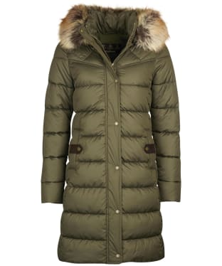 Women's Barbour Rustington Quilted Jacket - Olive