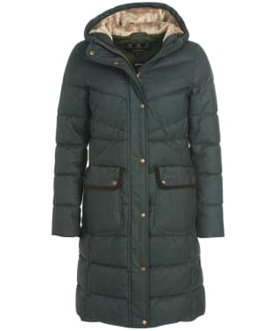 Women's Barbour Cranleigh Quilted Jacket - Olive