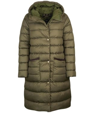Women's Barbour Milton Quilted Jacket - Olive