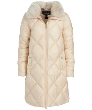Women's Barbour International Assen Quilted Jacket - Champagne