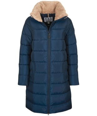 Women's Barbour Silt Quilted Jacket - Navy