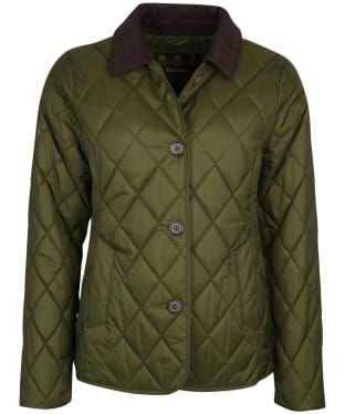 Women's Barbour Omberlsey Quilted Jacket - Olive