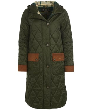 Women's Barbour Mickley Quilted Jacket - Sage