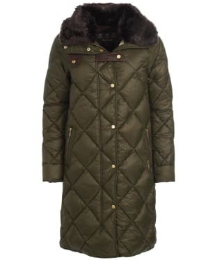 Women's Barbour Ballater Quilted Jacket - Sage