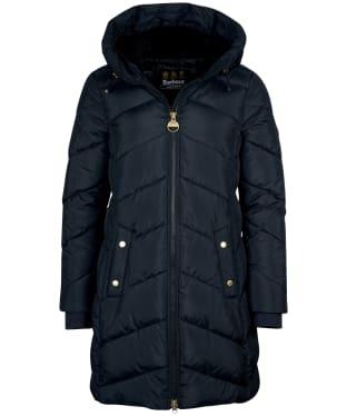 Women's Barbour International Breaside Quilted Jacket - Black