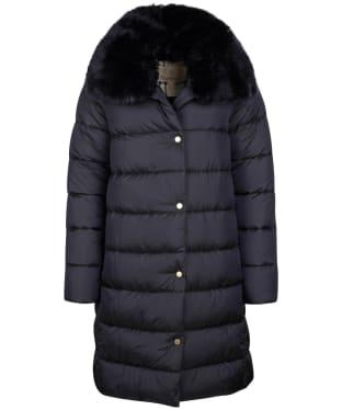 Women's Barbour Portobello Quilted Jacket - Dark Navy