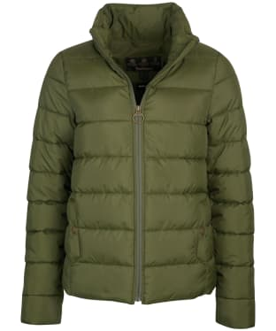 Women's Barbour Hinton Quilted Jacket - Olive