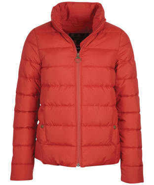Women's Barbour Hinton Quilted Jacket - Flame Red