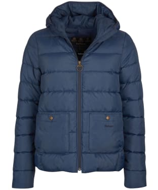 Women's Barbour Oaktree Quilted Jacket - Navy