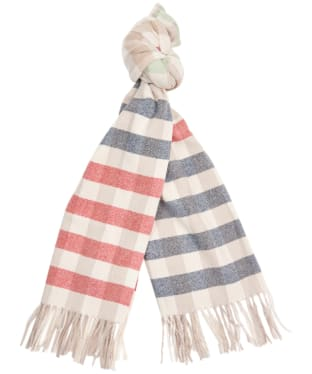 Women's Barbour Willow Check Scarf - Cloud Multi
