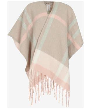 Women's Barbour Isla Boucle Serape - Pink / Grey