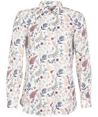 Women's Barbour Ingham Shirt - New Cloud Print