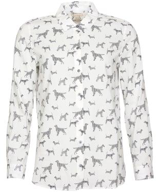 Women's Barbour Safari Shirt - OFF WHITE CNTPT
