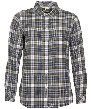 Women's Barbour Moors Shirt - Sage Check